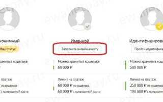 Как в Яндекс Деньги изменить паспортные данные