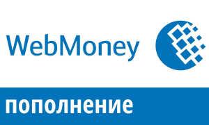 Как пополнить WebMoney с телефона