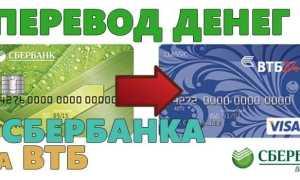 Как перевести деньги с карты Сбербанка на карту ВТБ24 МИР
